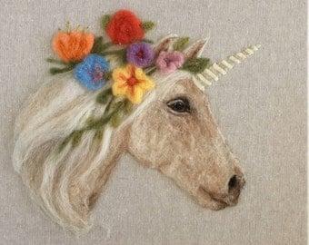 Custom Square Pet Portrait, Needle Felted Personalized Pet Art, Dog Portrait, Cat Portrait, Hoop Art, Pet Lover Gift, Pet Loss Gift