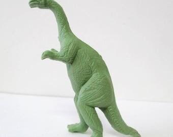 Vintage Plateosaurus Green Dinosaur Figure Toy Marx or MPC