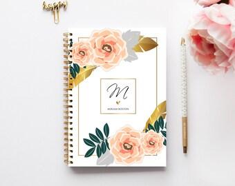 2018 Planner - 2018 Weekly Planner - Custom Planner - Journal - 2017 Diary - Custom Gift - A5 Planner - Student Planner