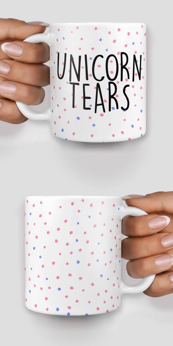 Unicorn tears mug - Christmas mug - Funny mug - Rude mug - Mug cup 4P059