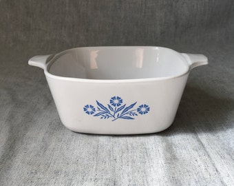 Corning Ware Blue Cornflower 2 3/4 Cup Casserole Dish P-43-B