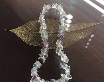 Fluorite Anklet, Fluorite Ankle Bracelet