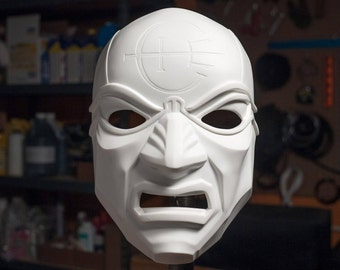 Dishonored Overseer Mask for Cosplay or Costume - Unfinished Resin Cast