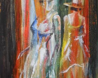Painting Elegant Ladies