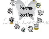 KAWAII KEEKEE Cat Planner Stickers | great for Erin Condren Life Planner | C12