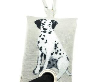 Dog Walking Bag – Dog Bag Dispenser – Dalmatian Poop Bag Dispenser – Dalmatian Poo Bag Holder – Dog Poop Bag Holder – Dog Waste Bag - Dog
