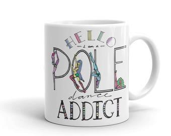 Pole Dance Mug | Pole Dancing Addict