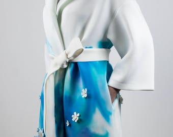 Blue Watercolor Coats