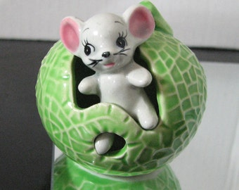 Cute mouse  and fruit toothpick holder