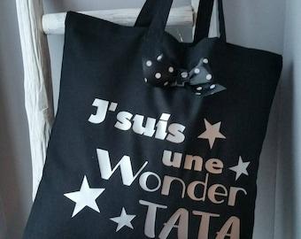 Le tote bag  spécial wonder tata !