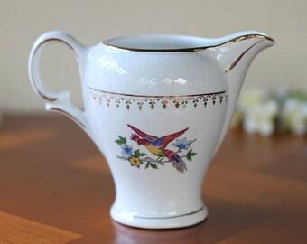 vintage crockery milk pot french porcelain