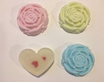 Natural Handmade Soap- Rose