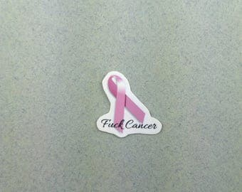 "Small sticker set ""fuck cancer"" minis"