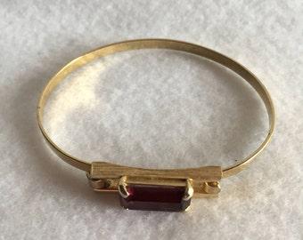 Vintage Avon Amethyst Bracelet