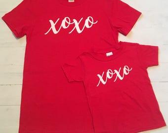 Kids Valentines Shirt. Valentines Day Shirt Women. Valentines Day Shirt. XOXO Shirt. Heart Tee. Heart Shirt. Graphic Tee. Love Shirt.