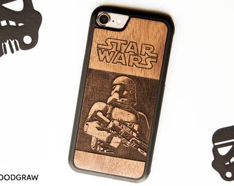 Stormtrooper iPhone case Boba Fett Darth Vader Death Star Yoda BB-8 Star Wars The Last Jedi iPhone 7 case iPhone 8 case iPhone 6 Plus case