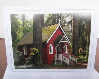 Photo Greeting Card   Handmade Card   Photo Note Card   Original Photography   St. Anne's Chapel