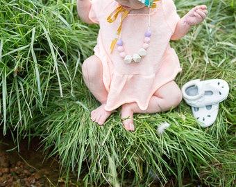 Baby & Toddler Bonnet - Swiss Summer