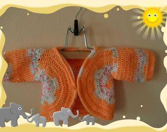 form newborn bolero vest