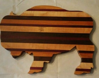 Buffalo Wood Cutting Board