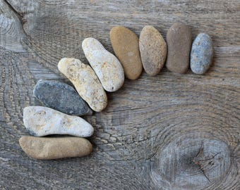 Medium sea stones balancing stones chakra healing stones dendritic stone fish tank ornament fish tank rocks craft rocks beach decor reiki