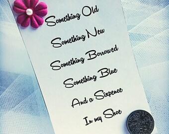 Wedding Sixpence