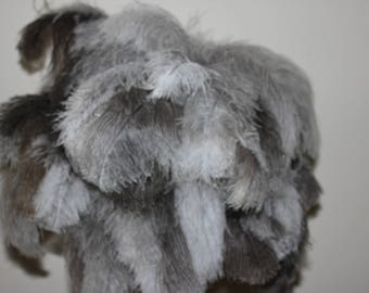 One deluxe extra large soft display ostrich feather duster one metre overall length first grade only