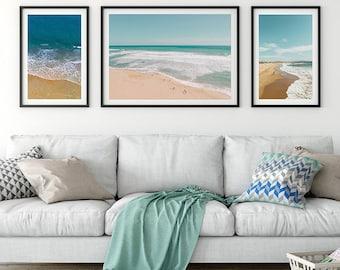 beach art beach wall art summer art beach print ocean wall art
