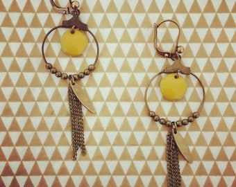 """Sandy's"" sequins earrings"