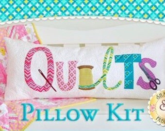 Quilts Pillow - Laser-Cut Kit