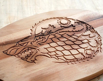 HUGE! 15,75'' Game of thrones cutting board, Game of thrones cutting boards, Dinner is Coming Cutting Board Game Of Thrones, GOT Cutting