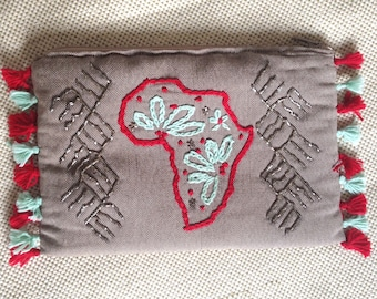Pouch sewn Africa