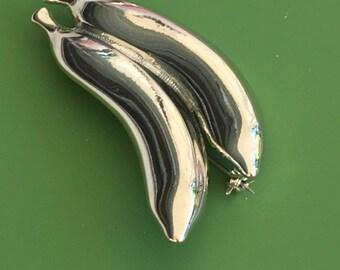 Vintage banana brooch