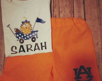 Auburn Football Childs Outfit