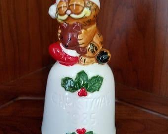 Garfield 1985 Christmas Bell By Enesco