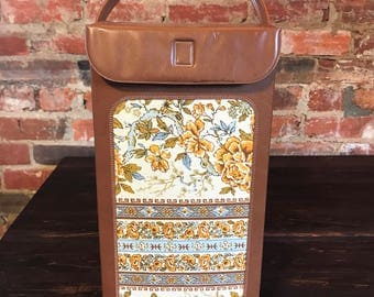 Vintage Wine Bottle Tote