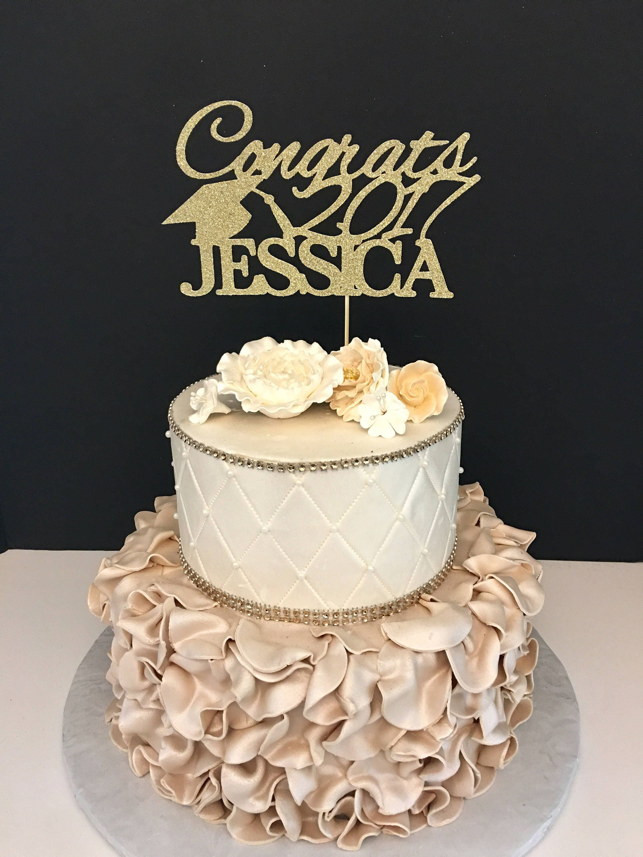 Graduation Cake Topper Personalized Graduation Cake Topper