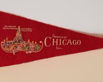 Chicago - Vintage Pennant