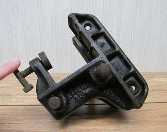 Champion Bench Corner Vise/Antique Clamp/Cast Iron Clamp