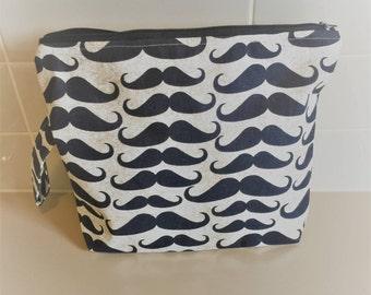 Moustache Project Bag