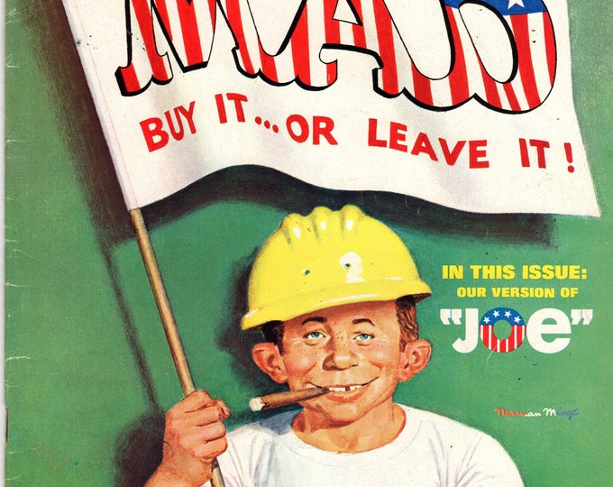 MAD Magazine #144 Alfred as Joe July 1971 Issue
