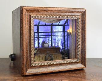 Haunted Mansion conservatory.  Original handmade shadowbox.