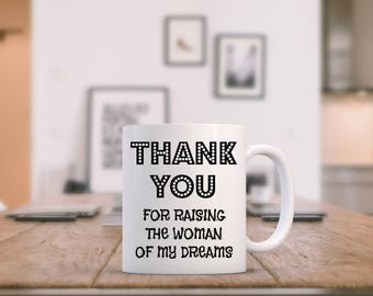Mother Of The Bride From Groom, Mother In Law Mug, Parents Of The Groom Gift, Mother Of The Groom Gift From Bride, Mother In Law Gift