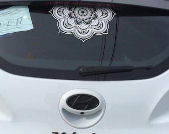 Mandela Car Decal 3/4