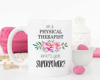 Physical Therapist Mug, Physical Therapist Gift, Gift for Physical Therapist, Coworker Gift, Graduation Gift, Gift for Friend, New Job Gift