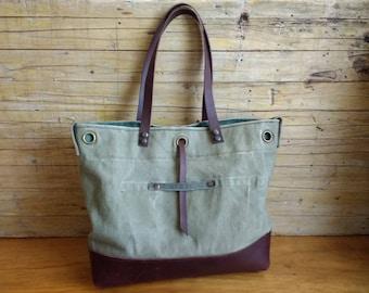 Repurposed military bag, Military Shoulder bag