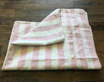 shabby chic pillow cases | pink&white