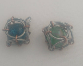 Caged Bead Good Luck Charm