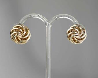 Vintage 1950s Clip-on Earrings