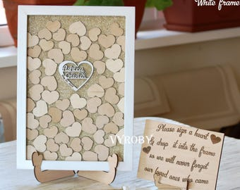 Heart Guestbook Etsy